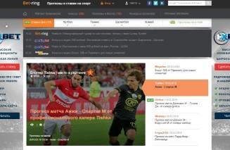 Просування сайту bet-ring.ru
