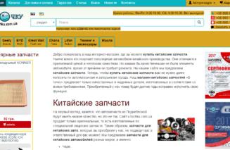 Аналіз сайту в v-tochku